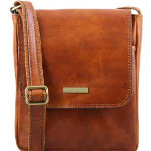 Мъжка кожена чанта за рамо JOHN TL141408-07
