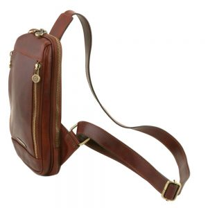 Мъжка кожена чанта за рамо MARTIN TL141536-01
