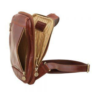 Мъжка кожена чанта за рамо MARTIN TL141536-03