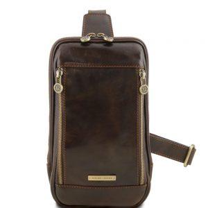 Мъжка кожена чанта за рамо MARTIN TL141536-08