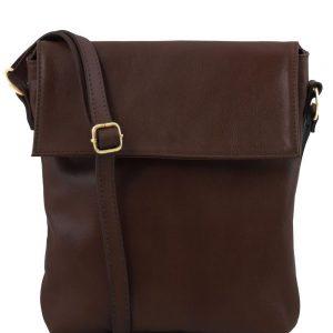 Мъжка кожена чанта за рамо MORGAN TL141511-05