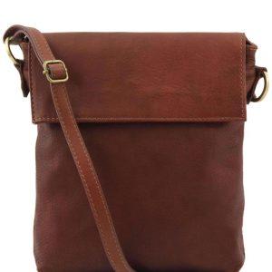 Мъжка кожена чанта за рамо MORGAN TL141511-06