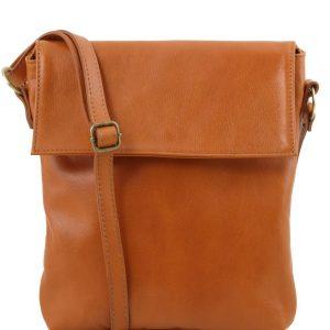 Мъжка кожена чанта за рамо MORGAN TL141511-09