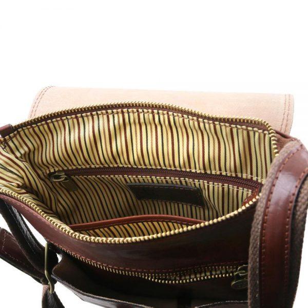 Мъжка кожена чанта за рамо ROBY TL141406-03