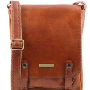 Мъжка кожена чанта за рамо ROBY TL141406-07