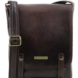 Мъжка кожена чанта за рамо ROBY TL141406-08