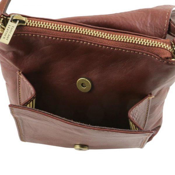 Мъжка кожена чанта за рамо SASHA TL141510-02
