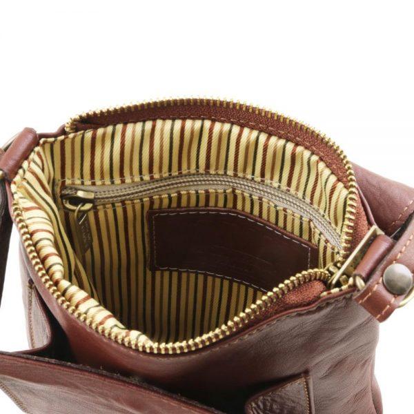 Мъжка кожена чанта за рамо SASHA TL141510-03
