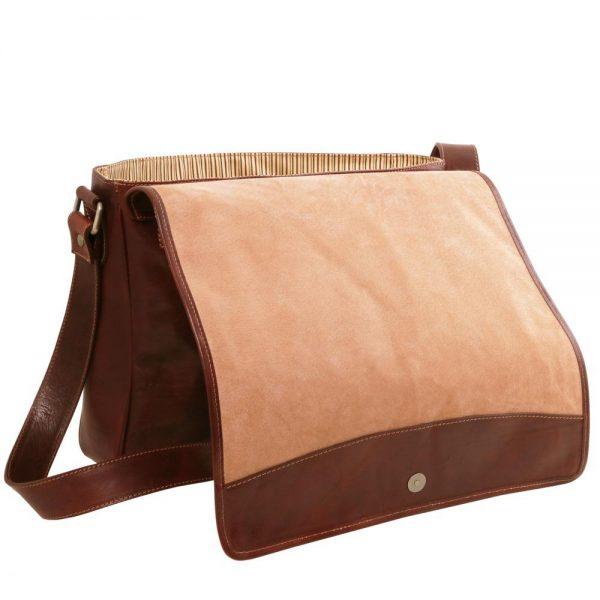 Мъжка кожена чанта за рамо TL MESSENGER TL141650-04