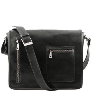 Мъжка кожена чанта за рамо TL MESSENGER TL141650-07