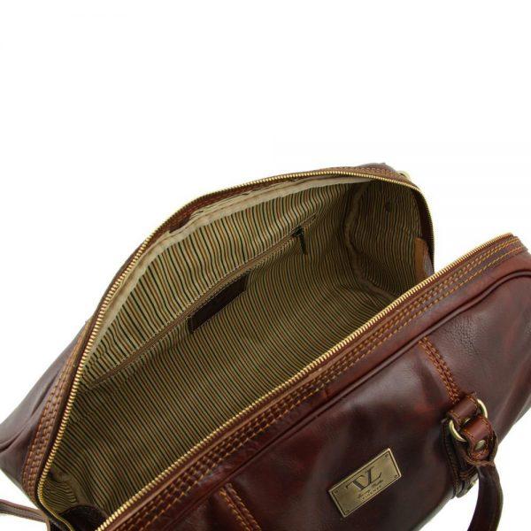 Мъжка кожена пътна чанта FRANCOFORTE TL140935-01