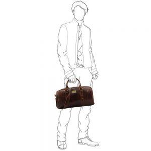 Мъжка кожена пътна чанта FRANCOFORTE TL140935-04