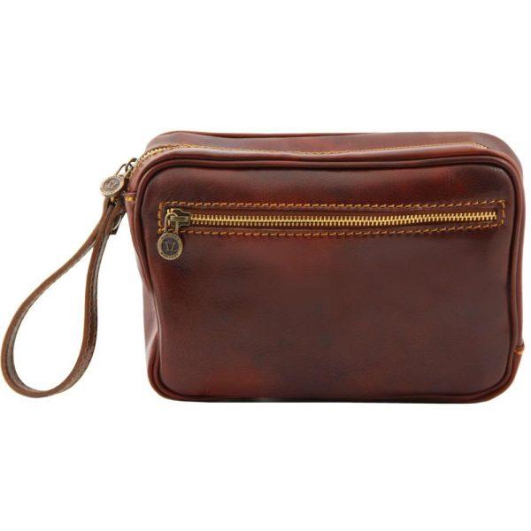 Мъжка кожена ръчна чанта IVAN TL140849-01