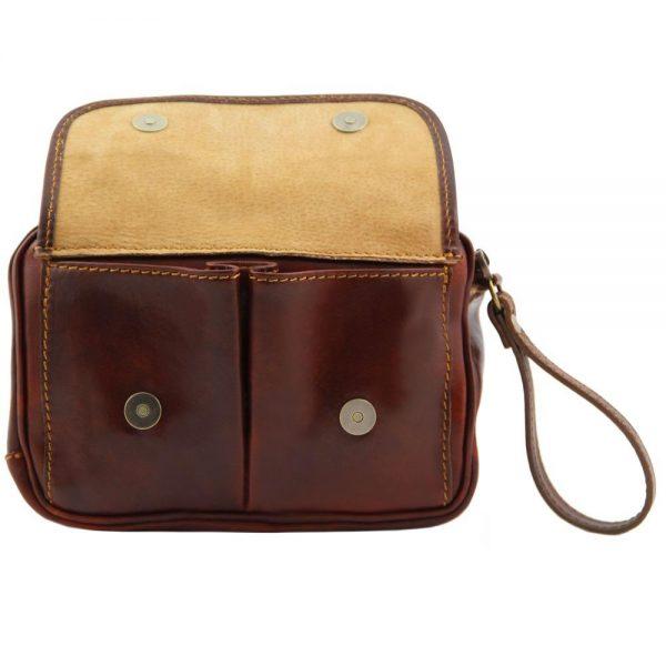 Мъжка кожена ръчна чанта IVAN TL140849-02
