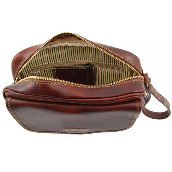 Мъжка кожена ръчна чанта IVAN TL140849-03