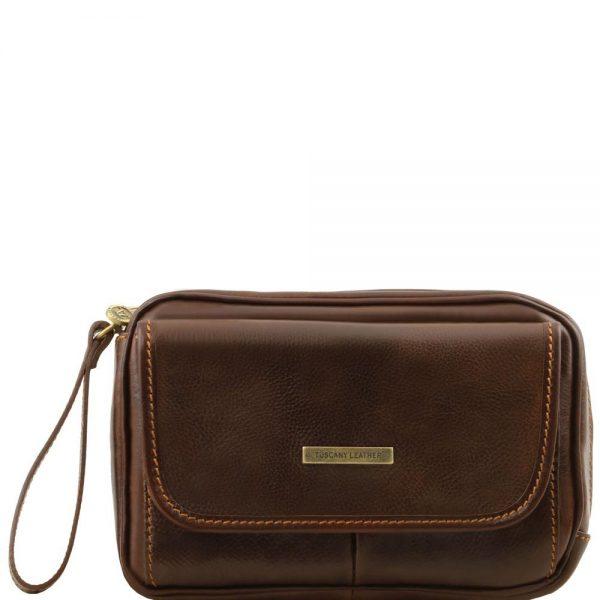 Мъжка кожена ръчна чанта IVAN TL140849-06