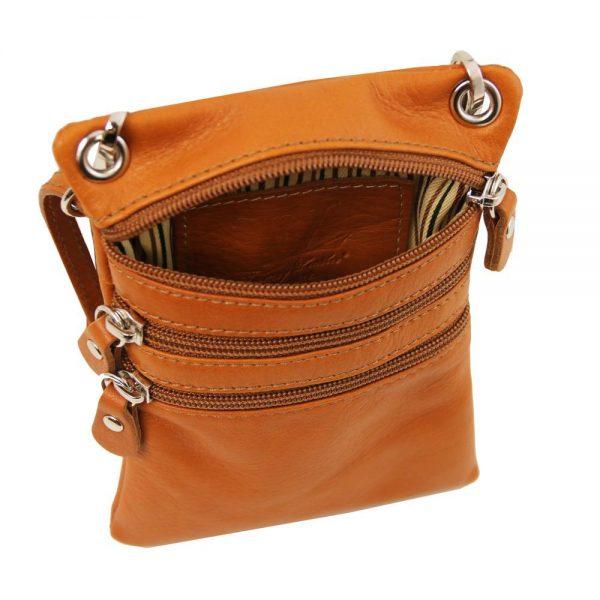 Мека кожена чанта за рамо TL BAG TL141368-02