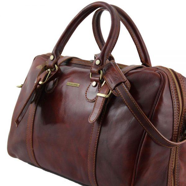 Пътна кожена чанта BERLIN TL1014-01