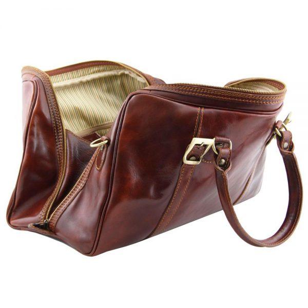 Пътна кожена чанта BERLIN TL1014-02