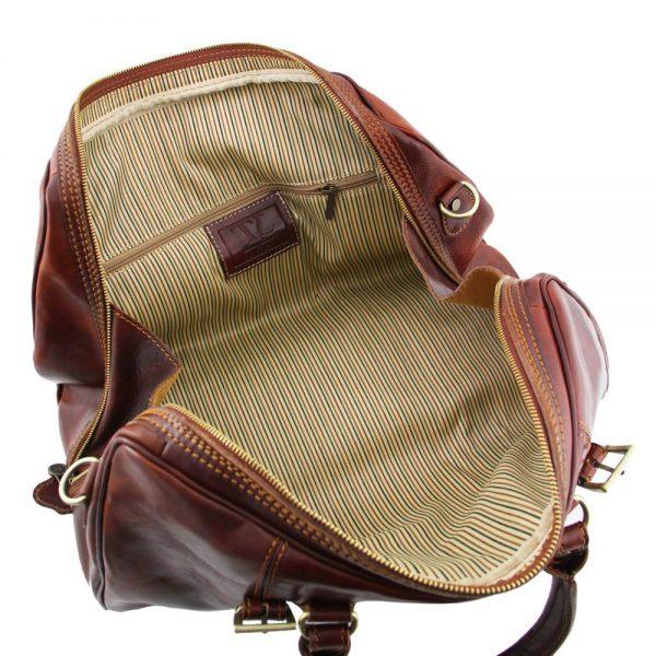 Пътна кожена чанта BERLIN TL1014-03