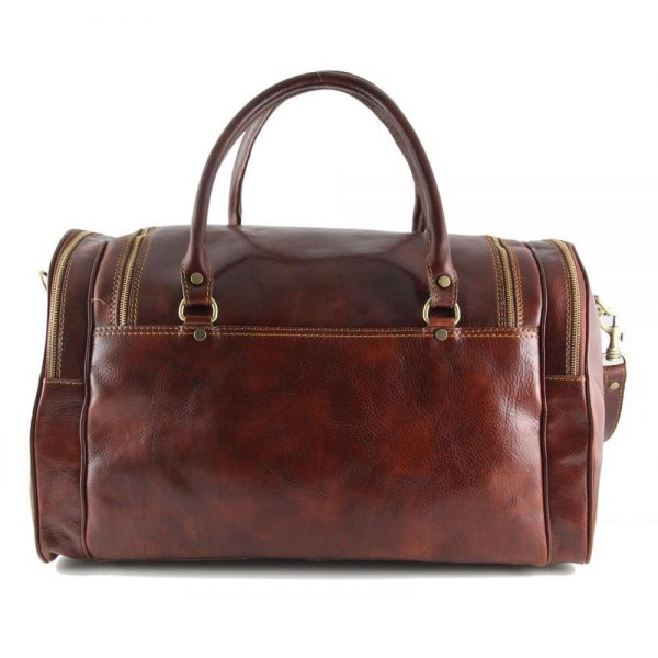 Пътна кожена чанта PRAGA TL1048-01