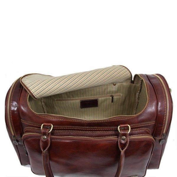 Пътна кожена чанта PRAGA TL1048-02