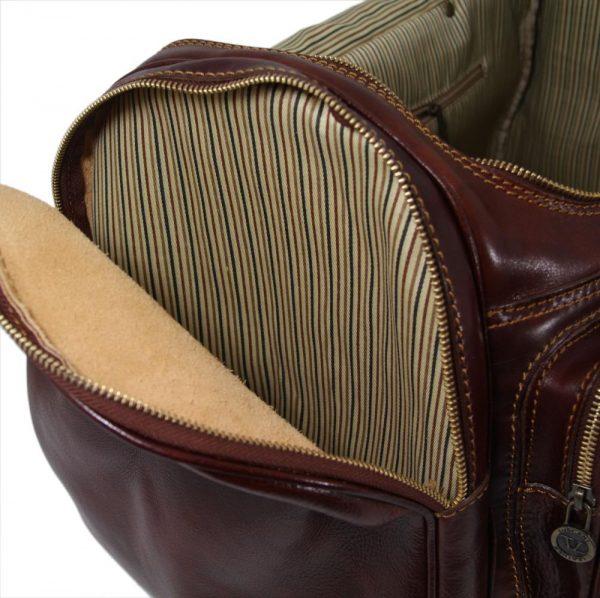 Пътна кожена чанта PRAGA TL1048-03