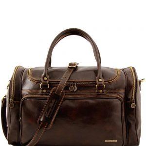 Пътна кожена чанта PRAGA TL1048-05
