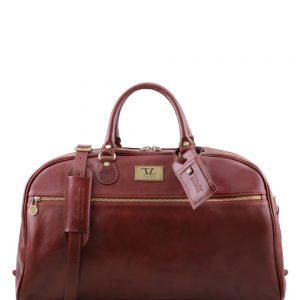 Пътна кожена чанта TL VOYAGER TL141422-05