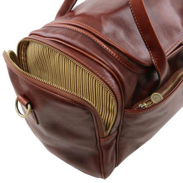 Пътна кожена чанта TL VOYAGER TL141441-02