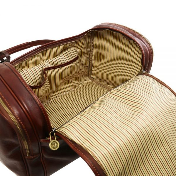 Пътна кожена чанта TL VOYAGER TL141441-03