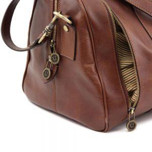 Сет голяма и малка мъжки кожени чанти MARCO POLO TL141246-01