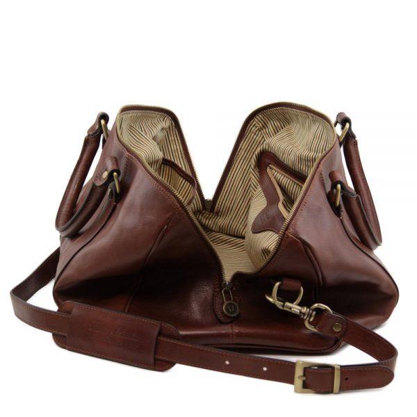 Сет голяма и малка мъжки кожени чанти MARCO POLO TL141246-02