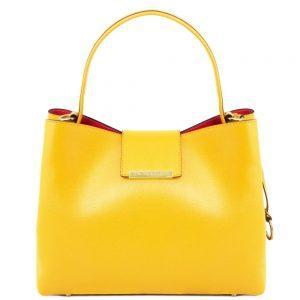 Стилна дамска кожена чанта CLIO TL141690-03