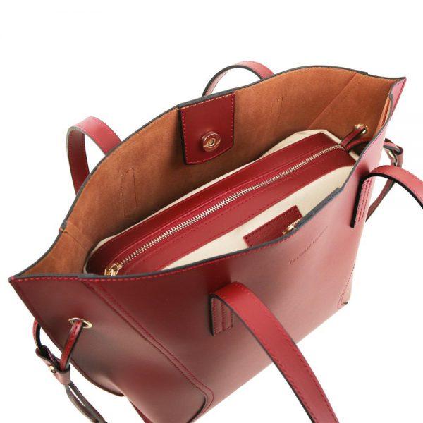 Стилна кожена чанта TL141625-06