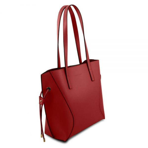 Стилна кожена чанта TL141625-07