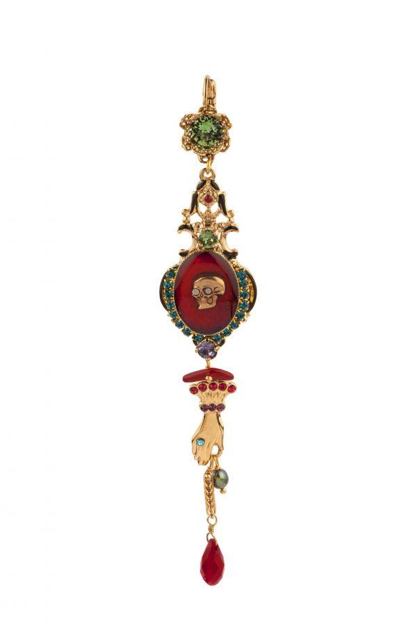 Дълги барокови обеци